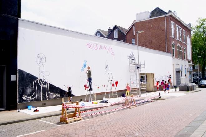 White Wall Project II. 2014. Rotterdam (NL)