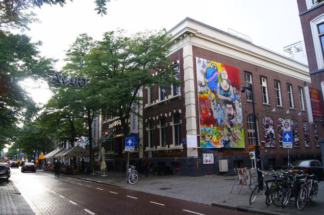 White Wall Project III. 2015. Kunst in het Witte de With Kwartier. Rotterdam (NL)